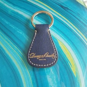 JUST IN!  Dooney & Bourke Leather Key Ring - NWOT